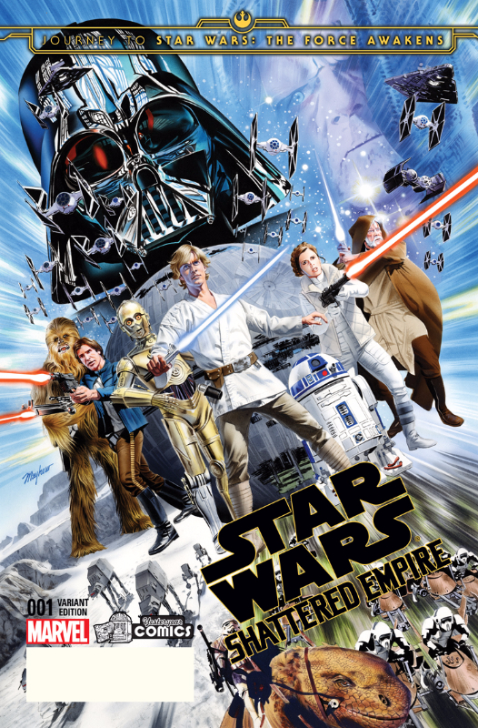 Journey To Star Wars: The Force Awakens: Star Wars: Shattered Empire variant cover