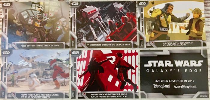 Star Wars Galaxy's Edge cards