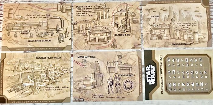 Star Wars Galaxy's Edge cards 2