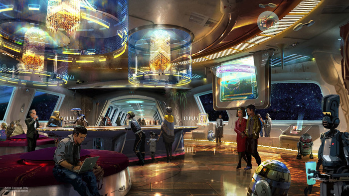 galaxy's edge hotel