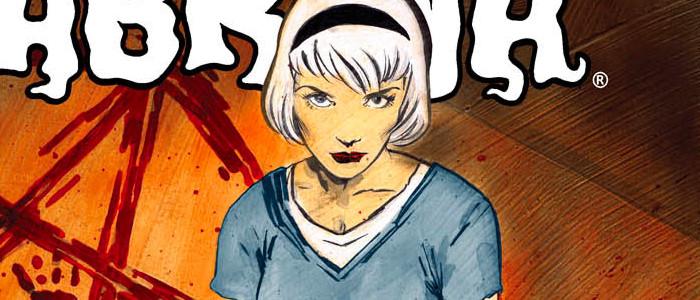 Sabrina comic cover