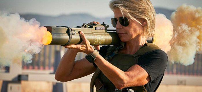 Sarah Connor in Terminator Dark Fate