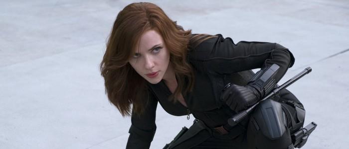 Scarlett Johansson as Black Widow in Captain America Civil War (1)