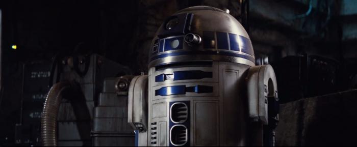 Star Wars: The Force Awakens r2d2