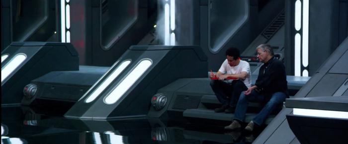 Star Wars: The Force Awakens: jj abrams and lawrence kasdan