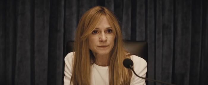 Holly Hunter plays a US Senator in Batman v Superman: Dawn of Justice