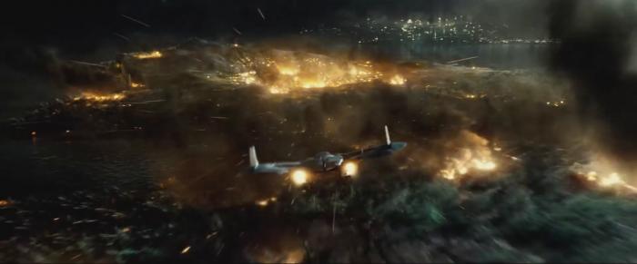 Plane in Batman V Superman: Dawn of Justice