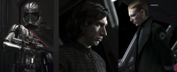 Star Wars the Last Jedi - The First Order