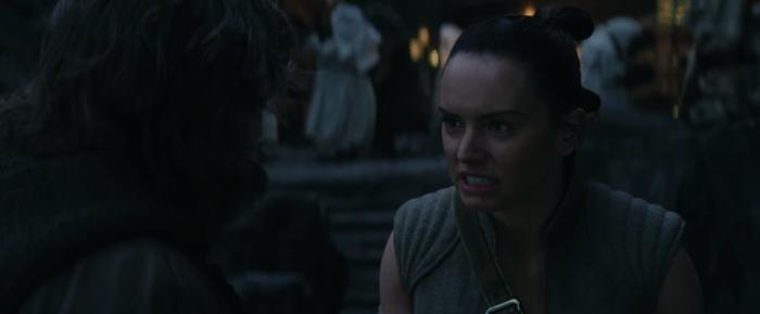 Last Jedi Deleted Scene Rey Luke