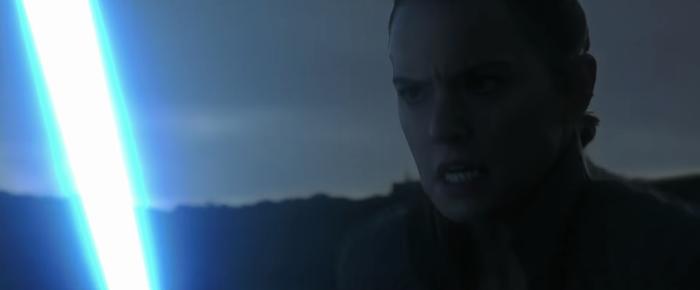 Last Jedi Deleted Scene Rey Running