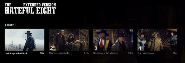 Hateful Eight Netflix