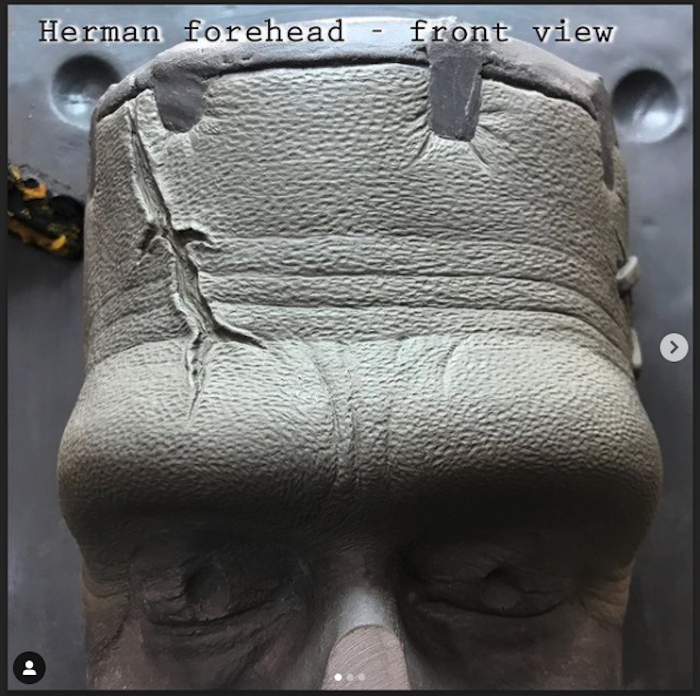 Herman Munster Facial Sculpt