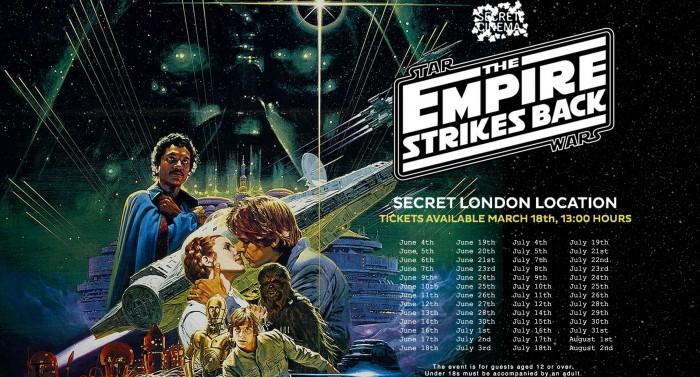 Secret Cinema Empire Strikes Back