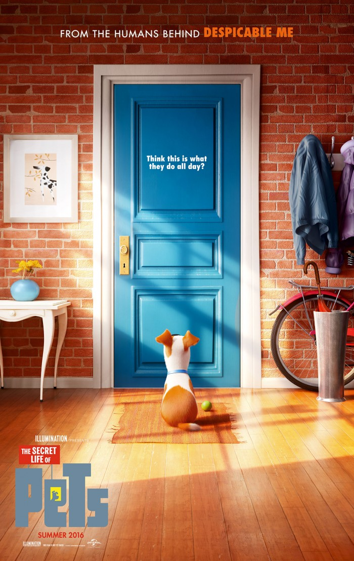 Secret Lives Of Pets Poster