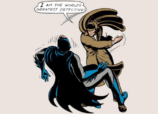 Sherlock Batman shirt
