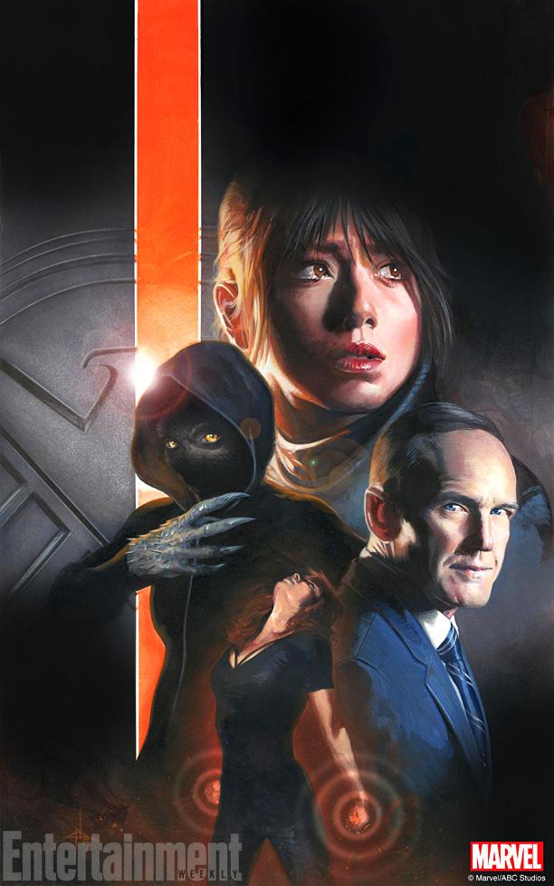 Shield Inhumans poster
