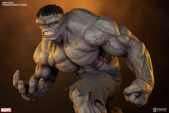 Sideshow Grey Hulk