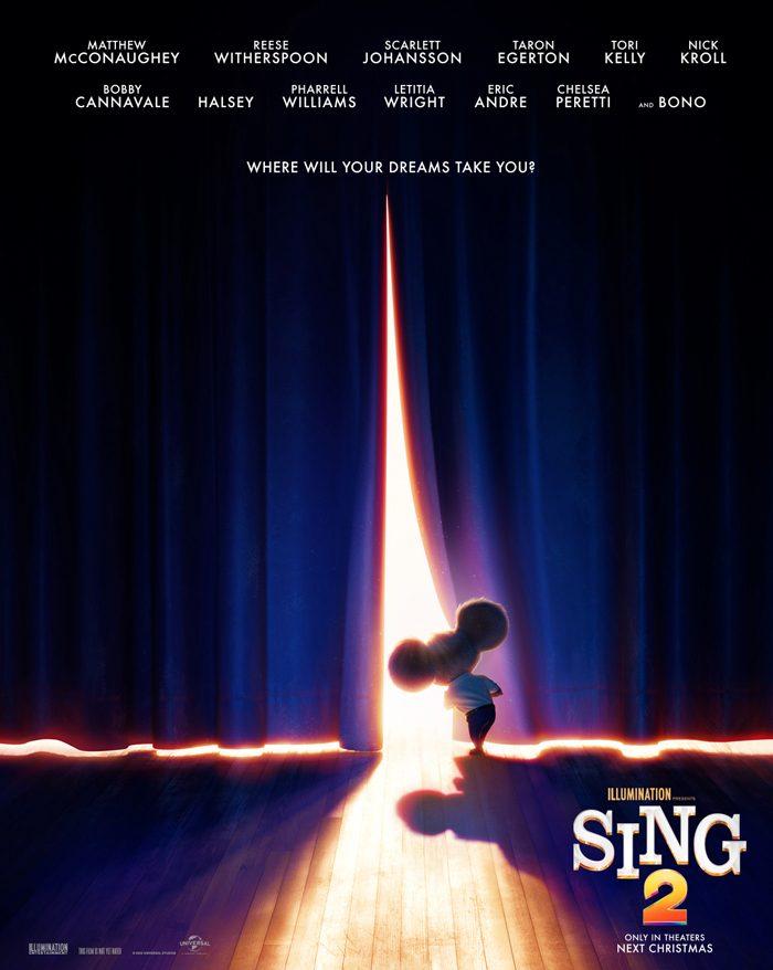 Sing 2 teaser poster