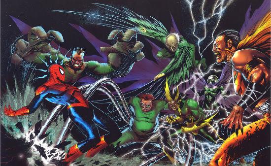 musuh spiderman
