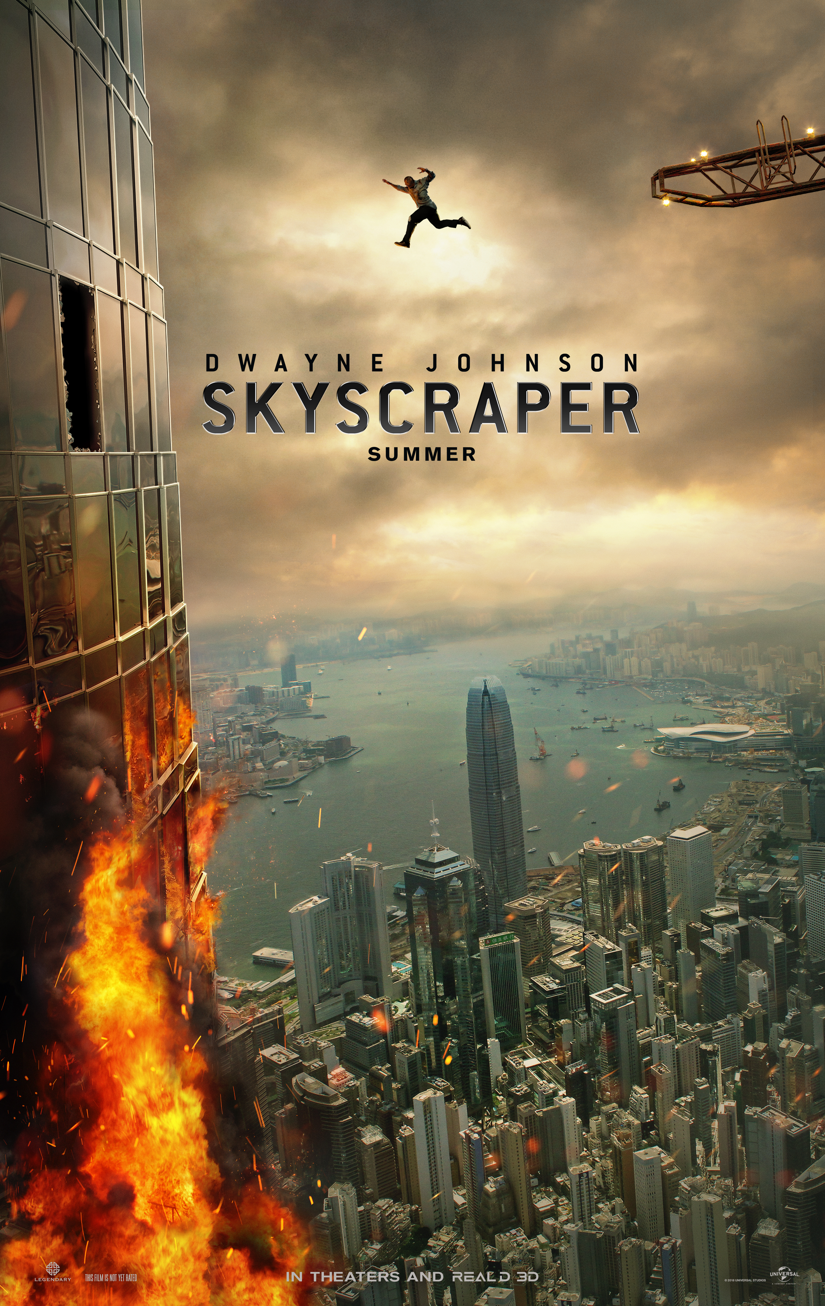 This Skyscraper Poster Is Glorious And Utterly Ridiculous