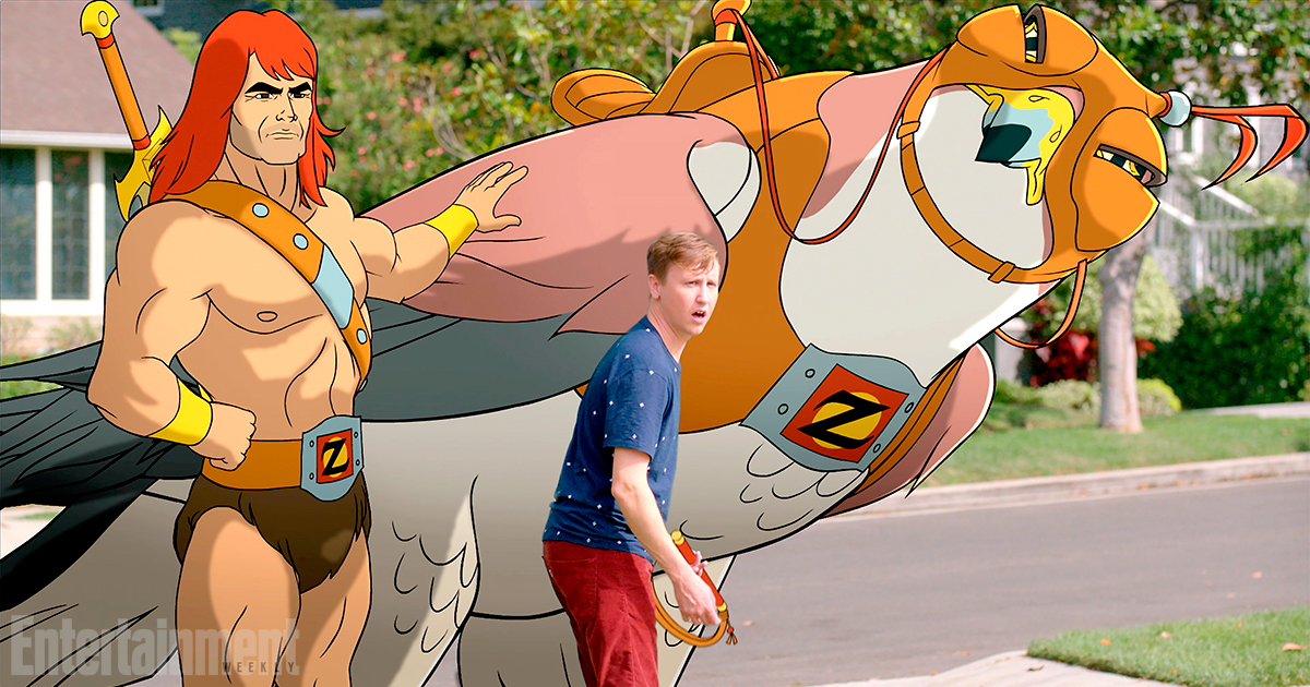 SON OF ZORN Zorn (voiced by Jason Sudeikis) and TK