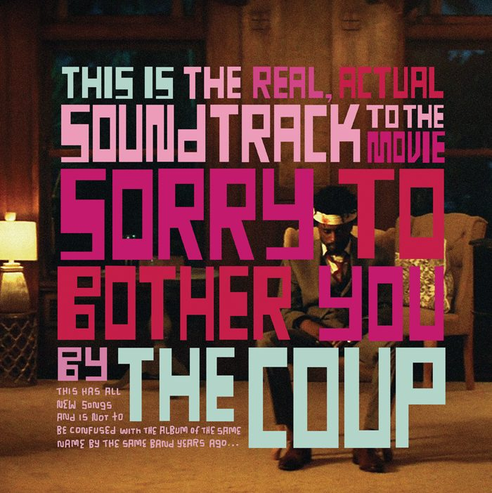 Sorry to Bother You album cover 2