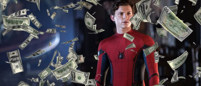 Spider-Man Far From Home box office billion