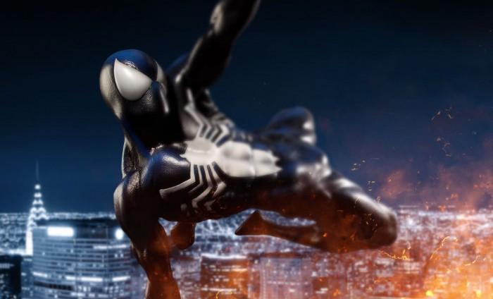 Spider-Man Symbiote statue
