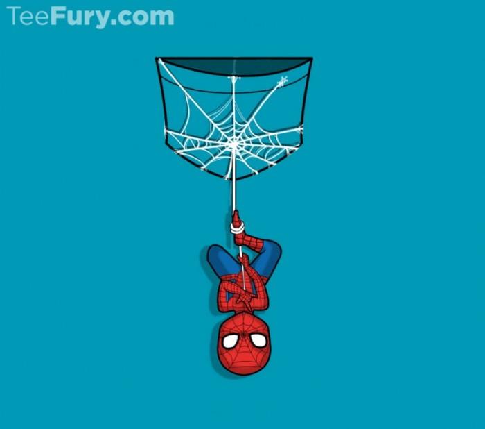 Spider-Man pocket tshirt