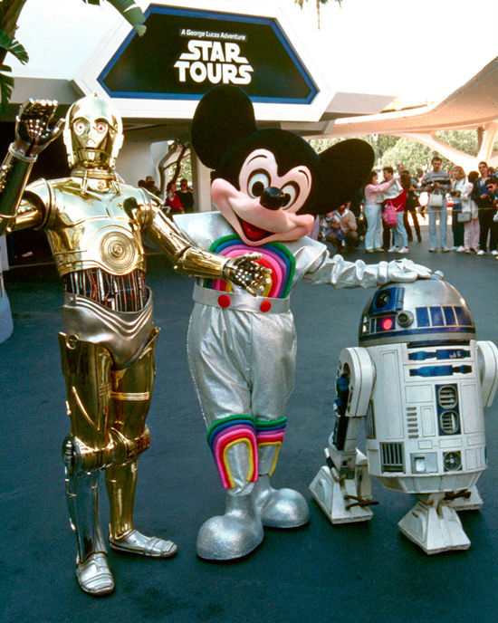 Star Tours opening day