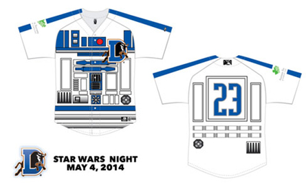 Star Wars Baseball Jerseys 2014