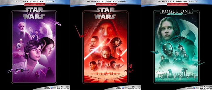 Star Wars Blu Ray Rereleases Coming Next Month Film