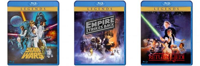 Star Wars Blurays