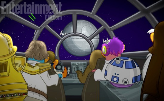 Star Wars Club Penguin