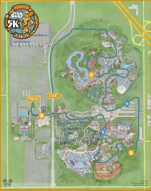 Star Wars Disneyland 5K