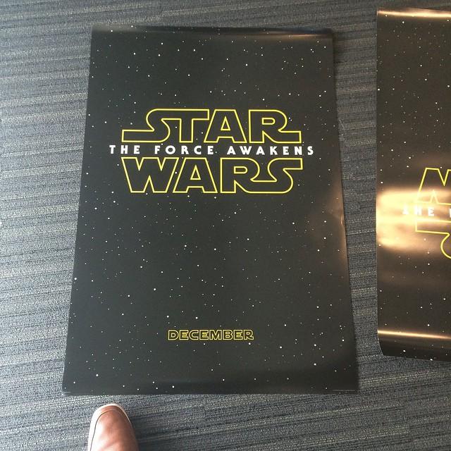 Star Wars Force Awakens Teaser Poster