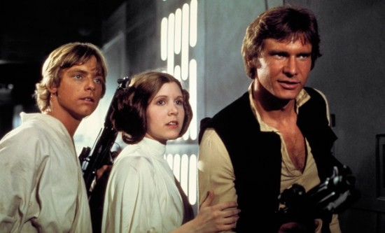 Star Wars - Luke Leia and Han