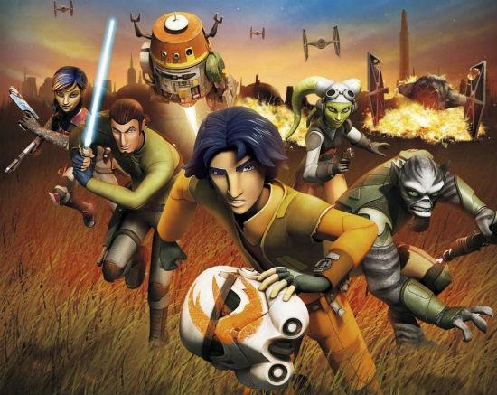 Star Wars Rebels DVD header