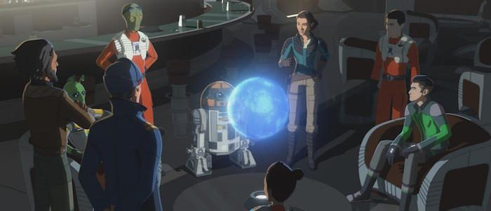 Star Wars Resistance Rebuilding the Resistance Review