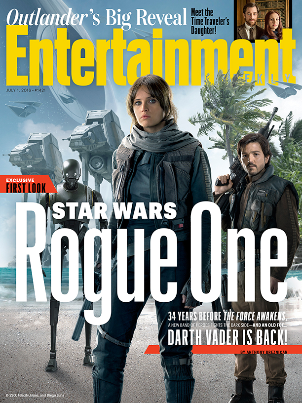 Star Wars Rogue One EW Cover