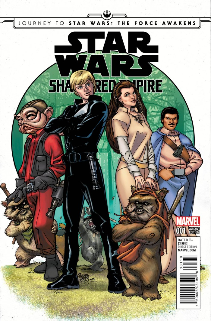 Star Wars Shattered Empire variant cover