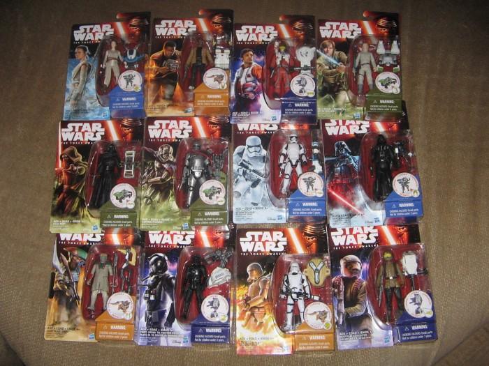 Star Wars The Force Awakens 375 figures