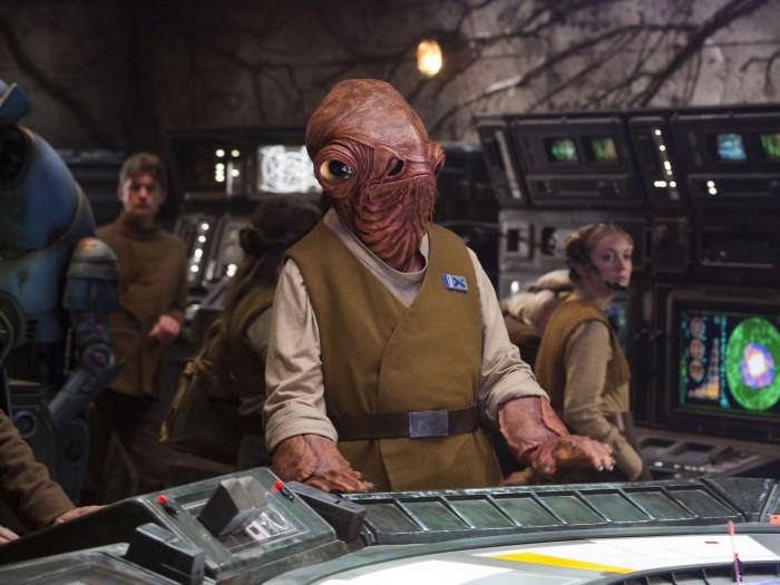 Star Wars The Force Awakens Admiral Ackbar