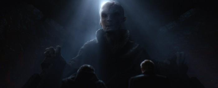 Star Wars The Force Awakens Supreme Leader Snoke