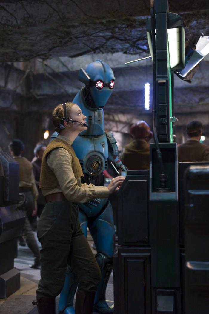 Star Wars The Force Awakens billie lourd