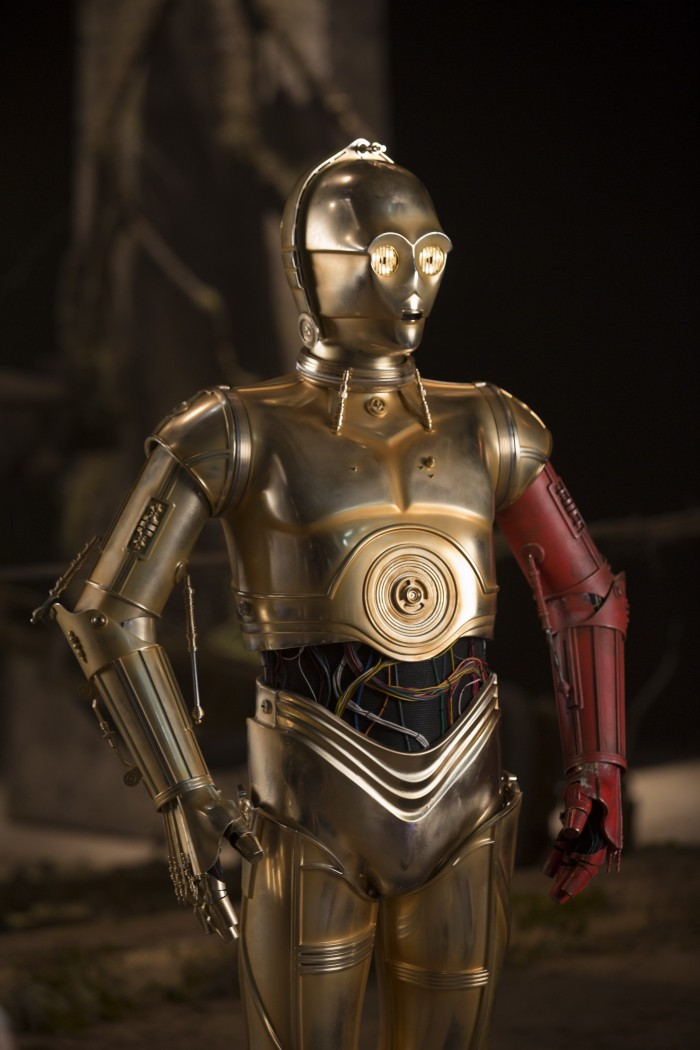 Star Wars The Force Awakens c-3po