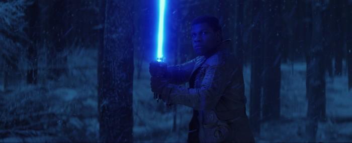 Star Wars The Force Awakens finn lightsaber