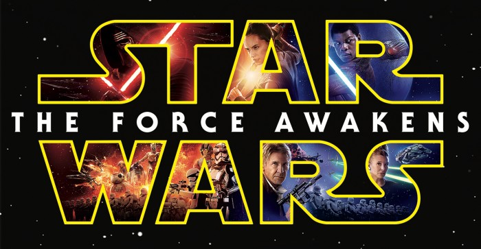Star Wars The Force Awakens home video header