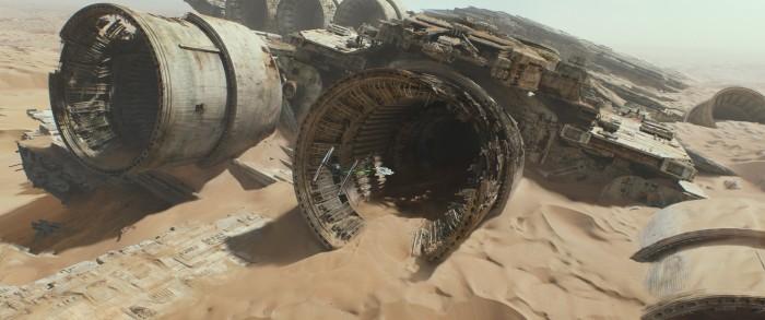 Star Wars The Force Awakens jakku 5
