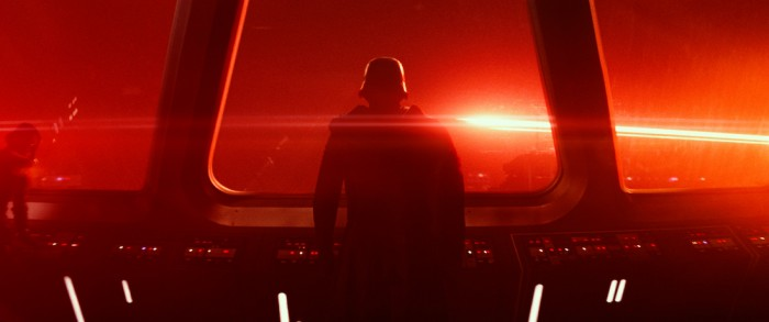 Star Wars The Force Awakens lens flare